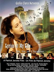 Lyrics of my life poster final